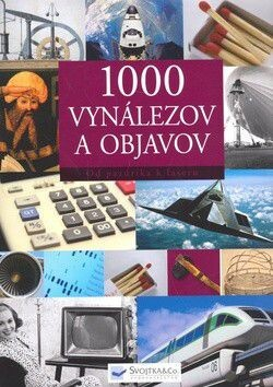Obálka knihy 1000 vynálezov a objavov