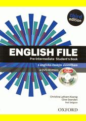 English File. Pre-intermediate. Student's book  (odkaz v elektronickém katalogu)