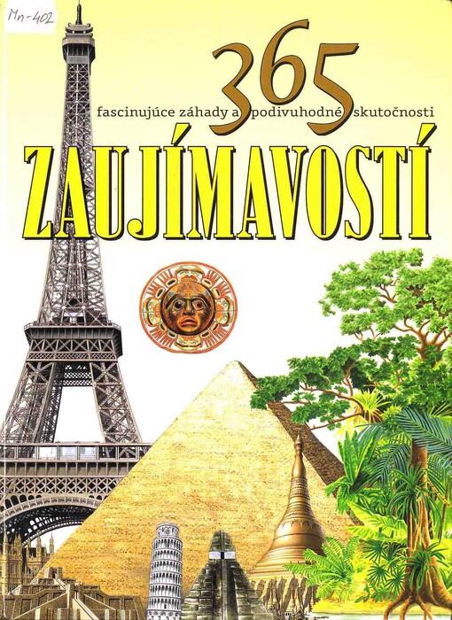 Obálka knihy 365 zaujímavostí