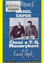 Čtení o T.G. Masarykovi  (odkaz v elektronickém katalogu)