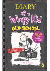 Diary of a Wimpy Kid. Old school / by Jeff Kinney (odkaz v elektronickém katalogu)