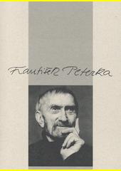 František Peterka : katalog k výstavě František Peterka (1920-2007) konané v Blatském muzeu v Soběslavi (srpen-září 2015) a v Husitském muzeu v Táboře (prosinec2015-březen2016) / výběr děl, text: Lenka Zajícová (odkaz v elektronickém katalogu)