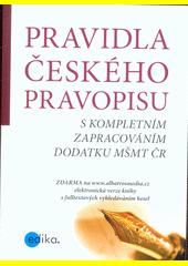 Pravidla českého pravopisu (odkaz v elektronickém katalogu)