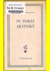 Svatý Tomáš Akvinský  (odkaz v elektronickém katalogu)
