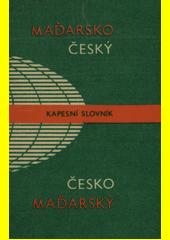 Maďarsko-český a česko-maďarský kapesní slovník  (odkaz v elektronickém katalogu)