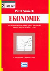Ekonomie pro přijímací zkoušky na navazující magisterský studijní program na VŠE v Praze  (odkaz v elektronickém katalogu)