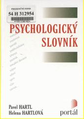 Psychologický slovník  (odkaz v elektronickém katalogu)