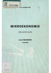 Mikroekonomie : základní kurz  (odkaz v elektronickém katalogu)