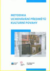 Metodika uchovávání předmětů kulturní povahy  (odkaz v elektronickém katalogu)