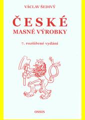 České masné výrobky  (odkaz v elektronickém katalogu)