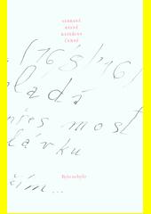 Sebrané básně Kateřiny Černé (odkaz v elektronickém katalogu)