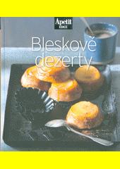 Bleskové dezerty (odkaz v elektronickém katalogu)