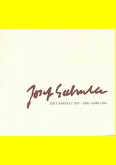 Josef Sahula (1918 - 2006) : výběr z díla : katalog výstavy k 10. výročí malířova úmrtí  (odkaz v elektronickém katalogu)