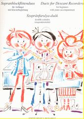 Sopranblockflötenduos für Anfänger : mit Klavierbegleitung (odkaz v elektronickém katalogu)
