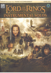 The Lord of the Rings : instrumental solos : violin : piano accompaniment (odkaz v elektronickém katalogu)