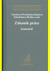 Zákoník práce : komentář  (odkaz v elektronickém katalogu)