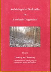 Die Bürg bei Oberpöring : eine bedeutende Befestigung des frühen und älteren Mittelalters  (odkaz v elektronickém katalogu)