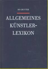 Allgemeines Künstlerlexikon : die Bildenden Künstler aller Zeiten und Völker. Band 102, Schleime - Seitter  (odkaz v elektronickém katalogu)