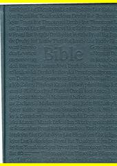 Bible : český ekumenický překlad : Písmo svaté Starého i Nového zákona včetně deuterokanonických knih  (odkaz v elektronickém katalogu)