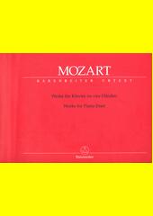 Werke fur Klavier zu vier Handen (odkaz v elektronickém katalogu)