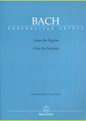 Arien für Sopran Bach BA 5211 (odkaz v elektronickém katalogu)