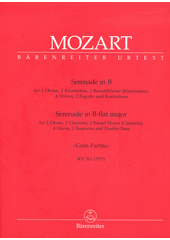Serenade B-Dur KV 361 (odkaz v elektronickém katalogu)