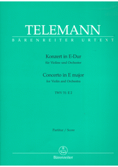 Telemann Koncert pro housle (odkaz v elektronickém katalogu)