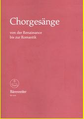 Sbory od renesance po romantismus (odkaz v elektronickém katalogu)