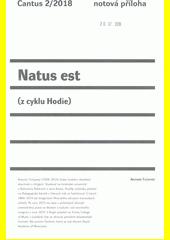 Natus est : (z cyklu Hodie)  (odkaz v elektronickém katalogu)