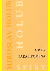 Paralipomena  (odkaz v elektronickém katalogu)