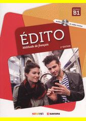Édito : méthode de français : Niveau B1  (odkaz v elektronickém katalogu)