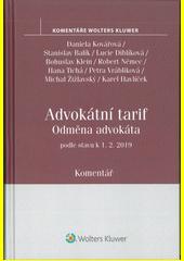 Odměna advokáta : komentář  (odkaz v elektronickém katalogu)