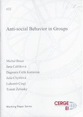 Anti-social behavior in groups  (odkaz v elektronickém katalogu)