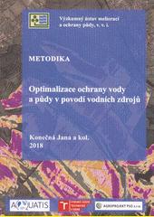 Optimalizace ochrany vody a půdy v povodí vodních zdrojů : metodika  (odkaz v elektronickém katalogu)