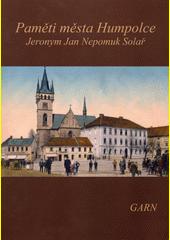Paměti města Humpolce  (odkaz v elektronickém katalogu)