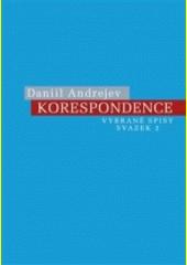 Korespondence  (odkaz v elektronickém katalogu)