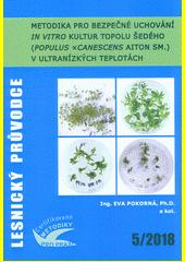 Metodika pro bezpečné uchování in vitro kultur topolu šedého (Populus ×canescens Aiton Sm.) v ultranízkých teplotách : certifikovaná metodika  (odkaz v elektronickém katalogu)