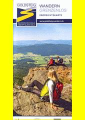 Goldsteig : Wandern grenzenlos : Übersichtskarte (odkaz v elektronickém katalogu)
