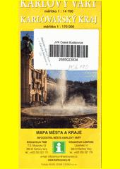 Karlovy Vary ; Karlovarský kraj : mapa města a kraje (odkaz v elektronickém katalogu)
