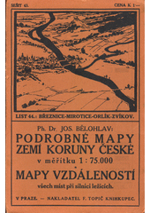 Březnice - Mirotice - Orlík - Zvíkov  (odkaz v elektronickém katalogu)