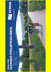 Vltavská cyklistická cesta : mapový atlas : dovolená na kole v Povltaví : Kvilda - Milešov (odkaz v elektronickém katalogu)