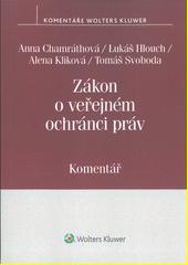 Zákon o veřejném ochránci práv : komentář  (odkaz v elektronickém katalogu)