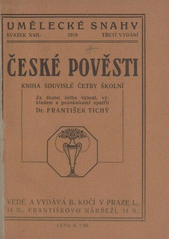 České pověsti  (odkaz v elektronickém katalogu)