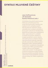 Syntax mluvené češtiny  (odkaz v elektronickém katalogu)
