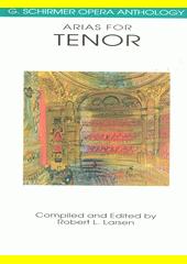 Arias for tenor  (odkaz v elektronickém katalogu)