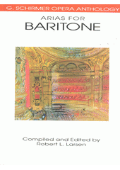 Arias for baritone  (odkaz v elektronickém katalogu)