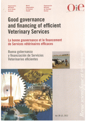Good governance and financing of efficient veterinary services =