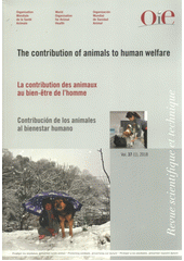 The contribution of animals to human welfare =