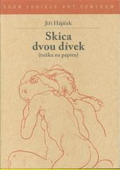 Skica dvou dívek : (tužka na papíru)  (odkaz v elektronickém katalogu)