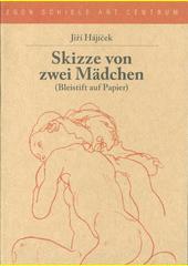 Skizze von zwei Mädchen : (Bleistift auf Papier)  (odkaz v elektronickém katalogu)